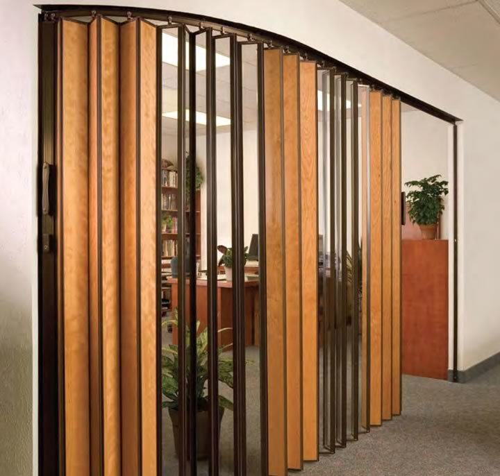 Accordion Doors Operable Walls Clear Fold Opening Doors To New